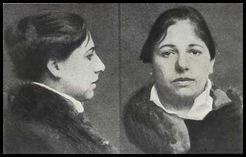 Foto de Mata Hari en prision